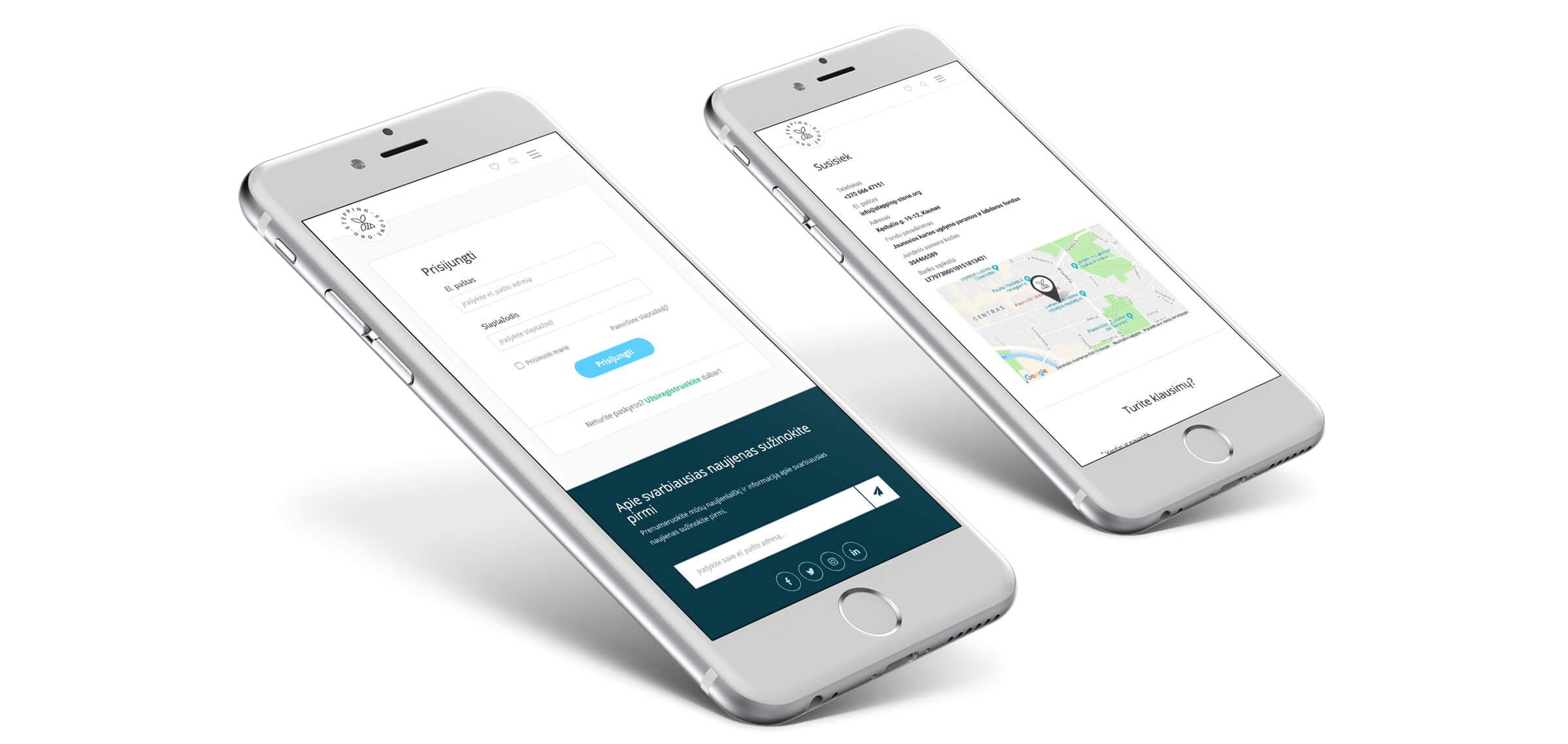 e-platformu kurimas