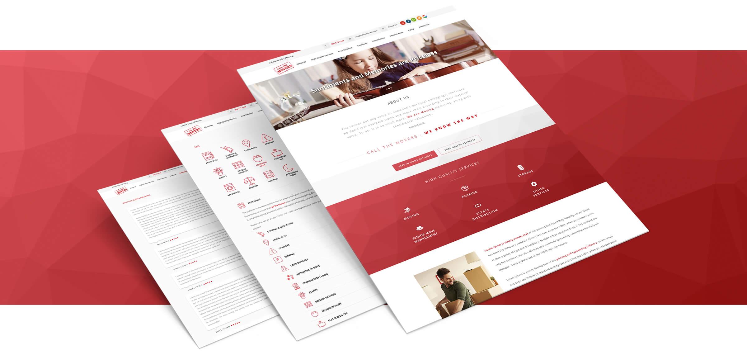 interneto svetainiu kurimas su unikaliu dizainu