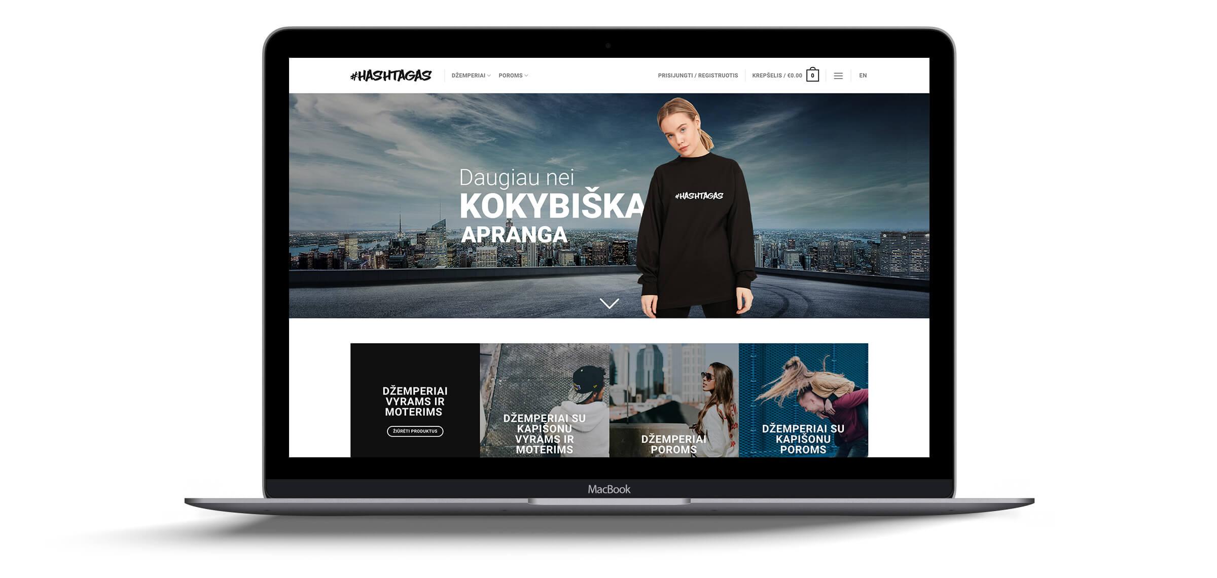 e-parduotuviu kurimas