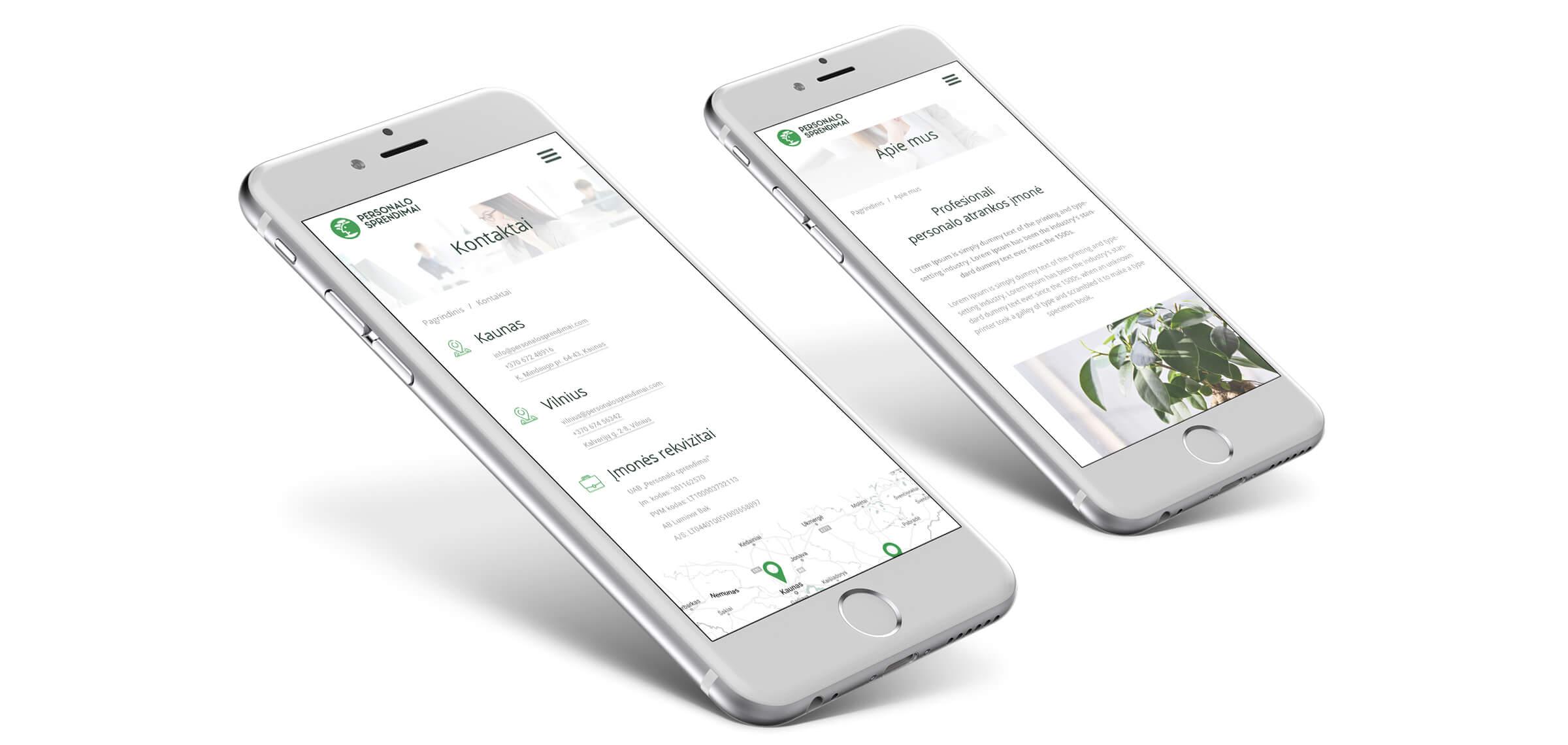 ux web dizaino kurimas