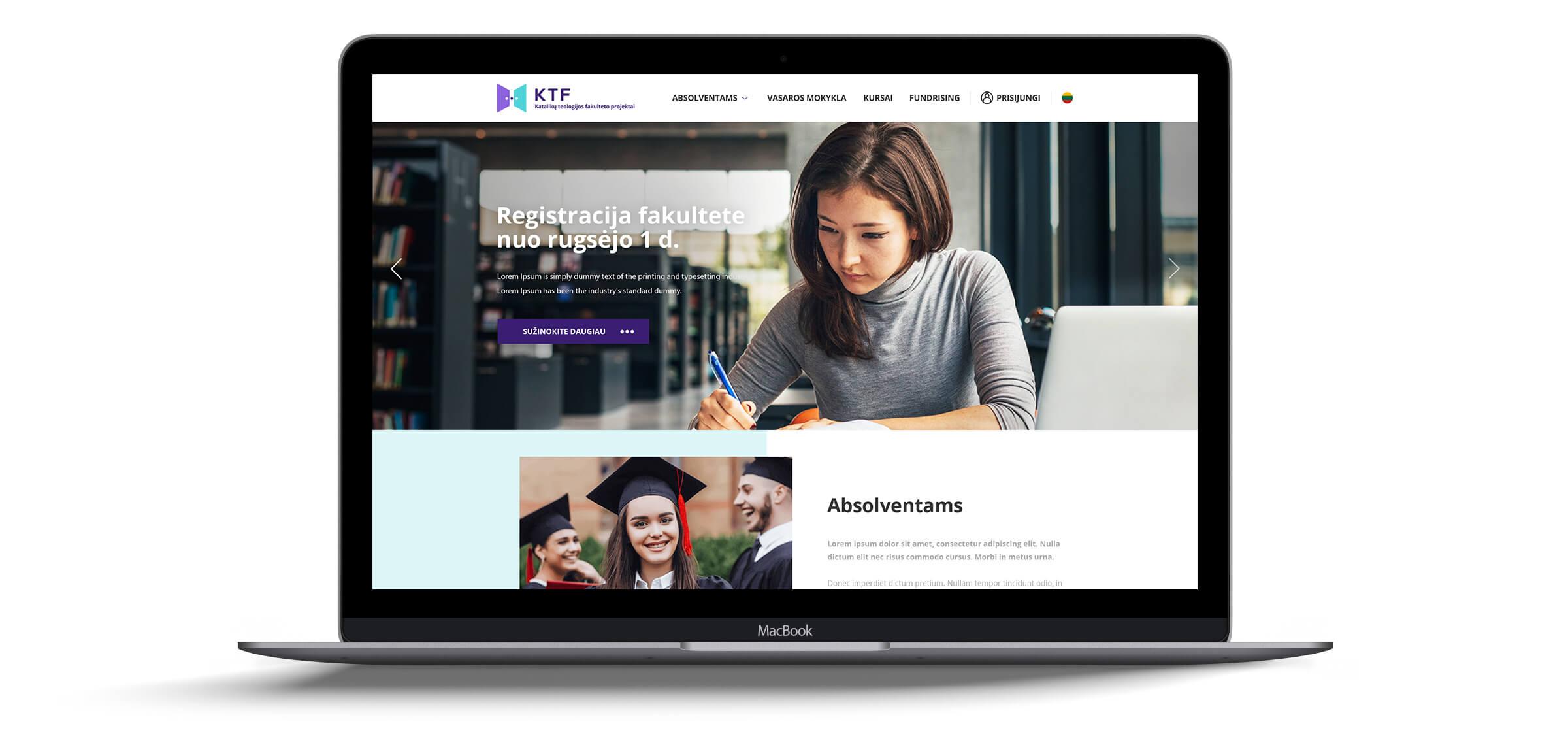 web dizaino kūrimas