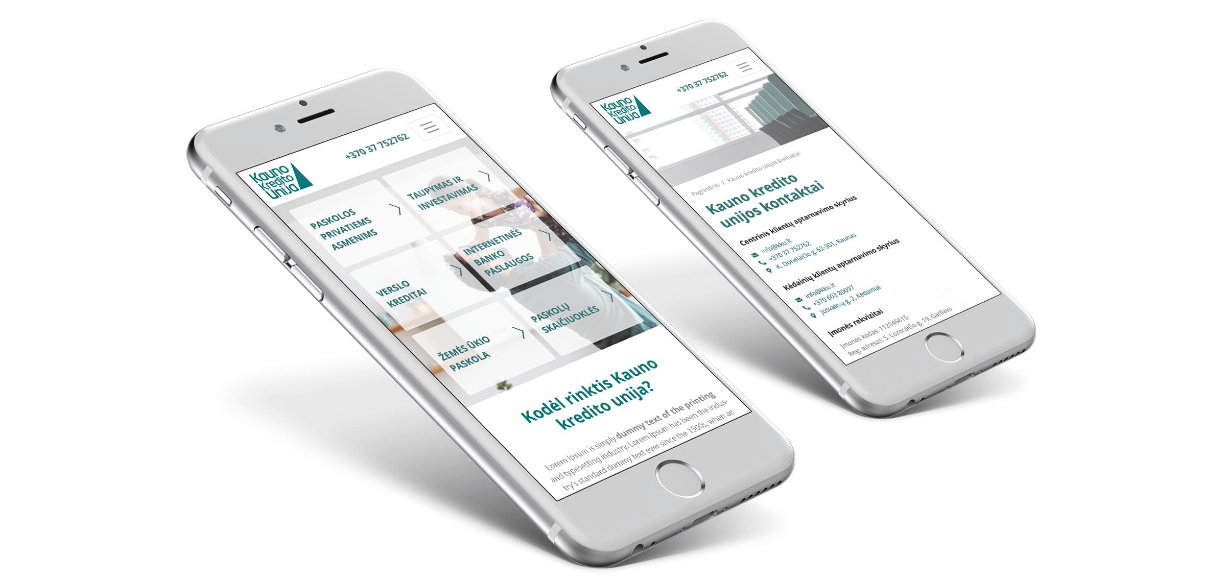web svetainiu dizaino kurimas